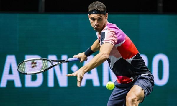 Григор Димитров започна с победа турнира в Акапулко