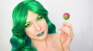 Хит в грима: Зелени сенки за очи