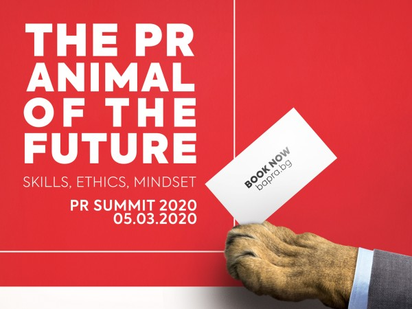 """The PR animal of the future""