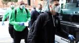 Лудогорец стриктен в Италия: Отборът видял Милано само от автобуса