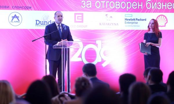 Радев: Успехът на държавите ще зависи все повече от отговорните лидери