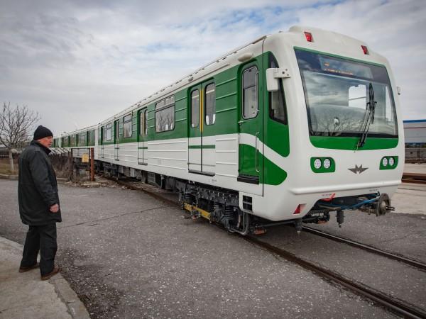 София модернизира стари метровлакове, които ще започнат да се движат
