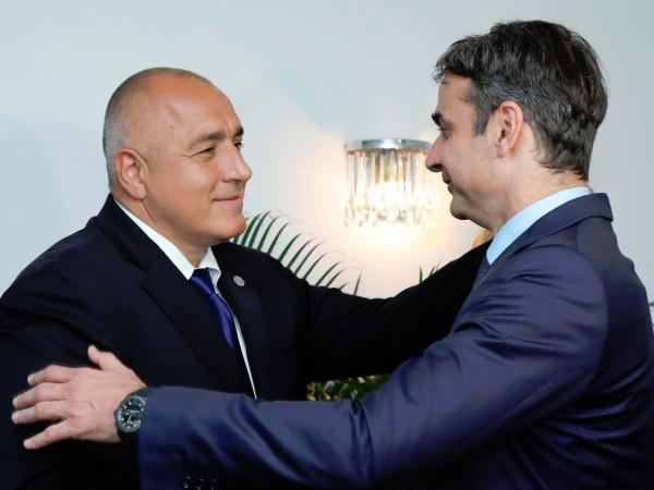 Министър-председателят Бойко Борисов проведе телефонен разговор с гръцкия премиер Кириакос