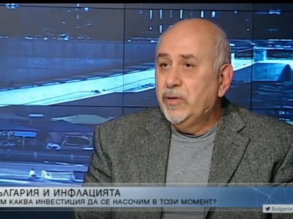 Годишната инфлация в България, изчислена според хармонизираните за ЕС методология