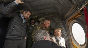 Von der Leyen en viaje a la frontera greco-turca