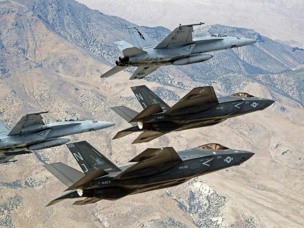 Днес Съединените щати нанесоха въздушен удар по талибани в южната