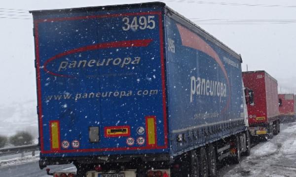 Български камиони се струпаха между Хърватия и Сърбия