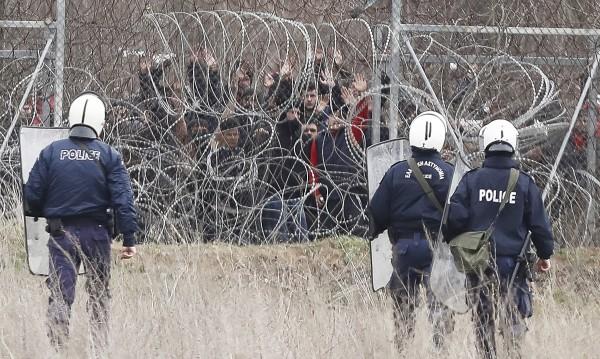 Напрежение на границата между Гърция и Турция