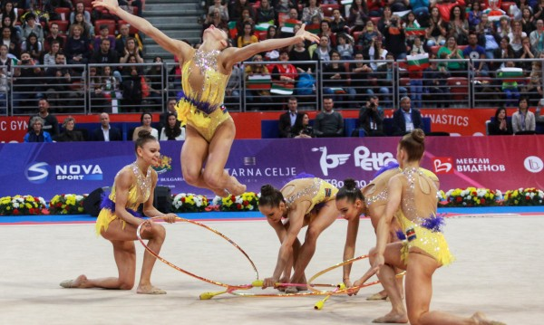 Отложиха и Световната купа по художествена гимнастика в София