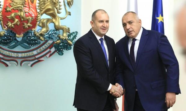 Борисов и Радев обсъдили ситуацията с коронавируса у нас