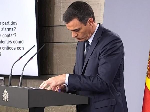 """Педро Санчес призова вчера за създаване на """"План Маршал"""" на"""
