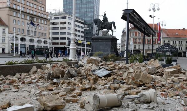 Цяла нощ земетресения люлеят Загреб – отчетени са 30 труса