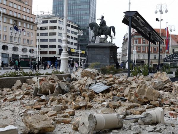 Вчера Загреб бе разтресен от най-силното земетресение от 140 години