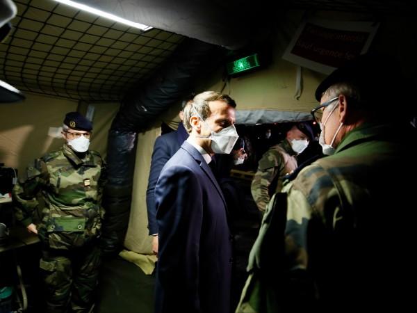 """Френският президент Еманюел Макрон обяви началото на военната операция """"Резилианс"""","""