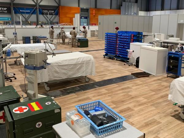 Броят на смъртните случаи от коронавирус в Испания нарасна през