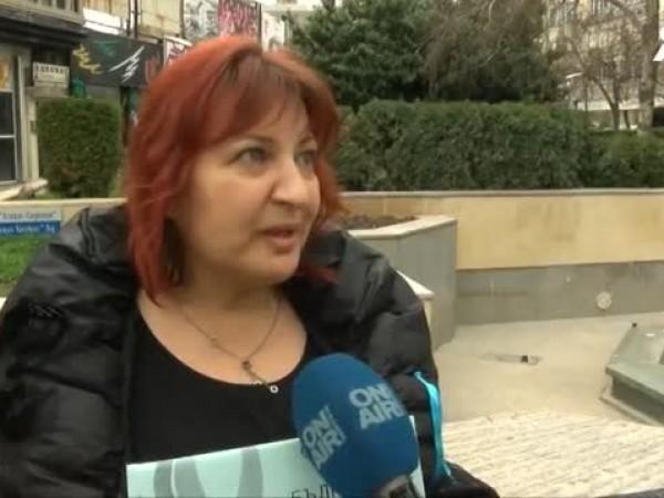 Христина Атанасова е едно от лицата на протеста в Бургас.