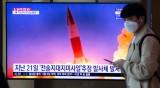 Северна Корея тества две балистични ракети