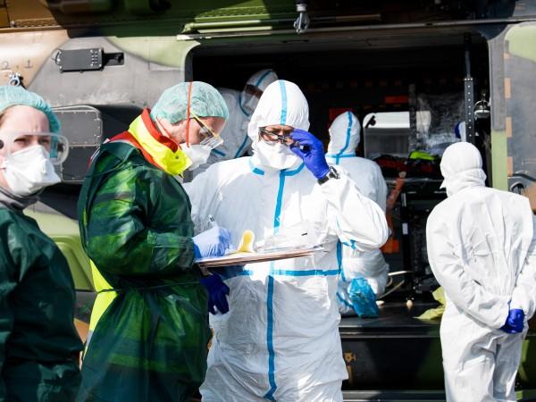 Броят на потвърдените случаи на коронавирус в Германия нарасна на
