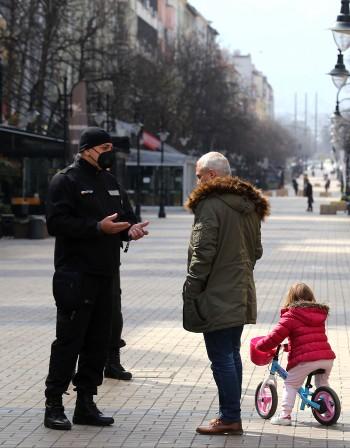 """""""Солена"""" разходка: 300 пешеходци с глоба по 5000 лева"""