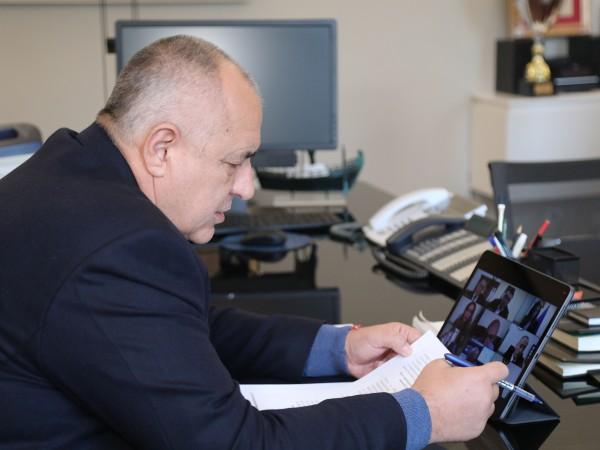 Министерският съвет прие актуализация на бюджета на дигитално заседание късно