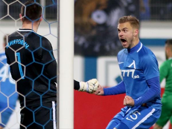 Най-скъпият футболист на Левски – Холмар Ейолфсон, заяви, че бъдещето