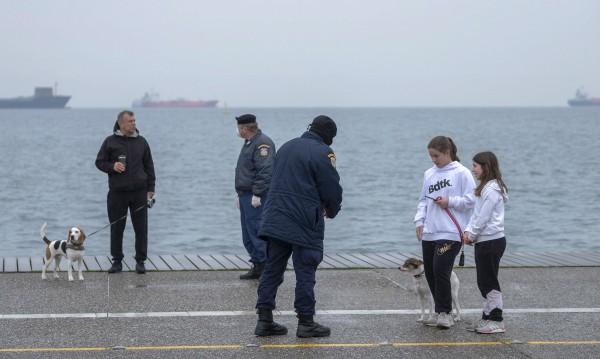 Затвориха част от крайбрежната алея в Солун