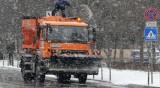90 снегорина чистят София, основните пътни артерии са опесъчени