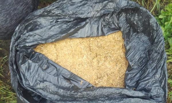 Полицаи иззеха близо 300 кг нарязан тютюн от кола