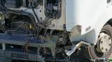 Челна катастрофа между два камиона на пътя Русе - Разград
