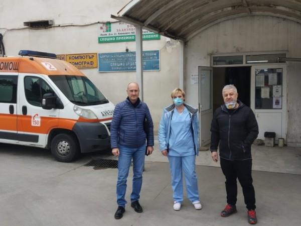 """ПФК """"Берое"""" направи дарение на Центъра за спешна медицинска помощ"""