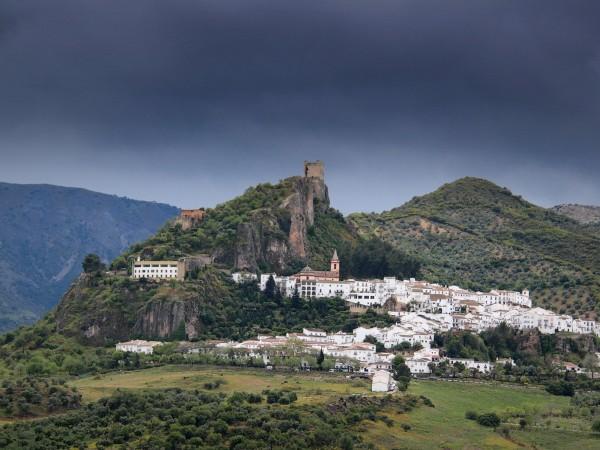 Малкото градче Захара де ла Сиера се намира в Южна