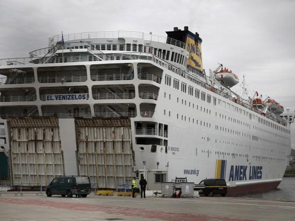 "119 души са заразените с коронавирус на кораба ""Елефтериос Венизелос"","