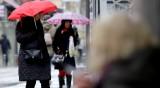 Времето днес: Облачно, в Южна България - дъжд