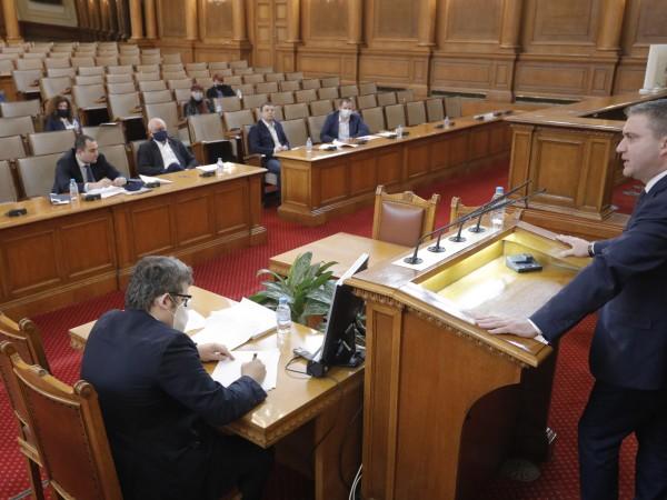 Комисията по бюджет и финанси прие на второ четене промени