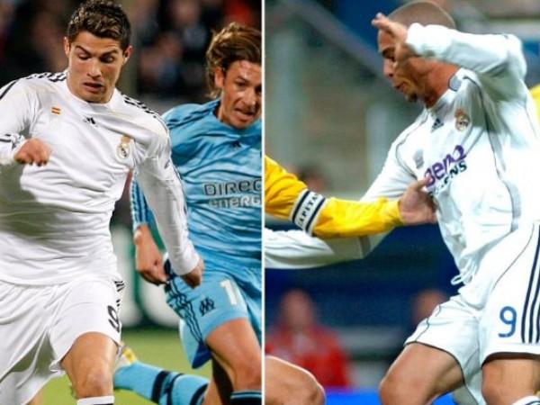 Кристиано Роналдо и Роналдо Назарио – две легенди на футбола,