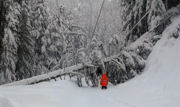 Заради снега: Община Рудозем обяви бедствено положение