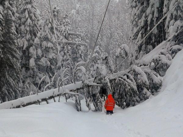 Община Рудозем обяви бедствено положение заради проблемите, причинени от обилния