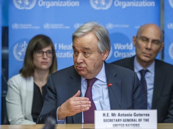 Генералният секретар на ООН Антонио Гутериш призова правителствата да засилят