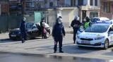Полицейска акция в ромската махала в Благоевград
