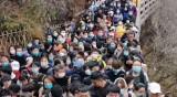 Китайците препълниха националните си паркове