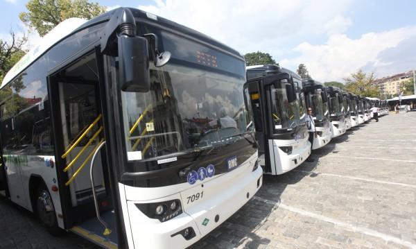 Градският транспорт в София от днес с намалено работно време
