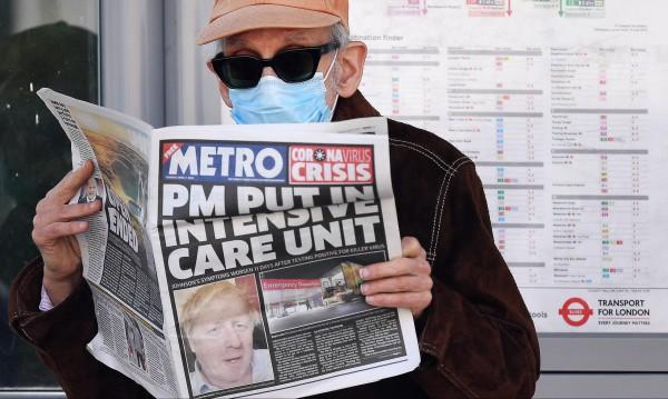 Борис Джонсън е в стабилно състояние, получил е още кислород