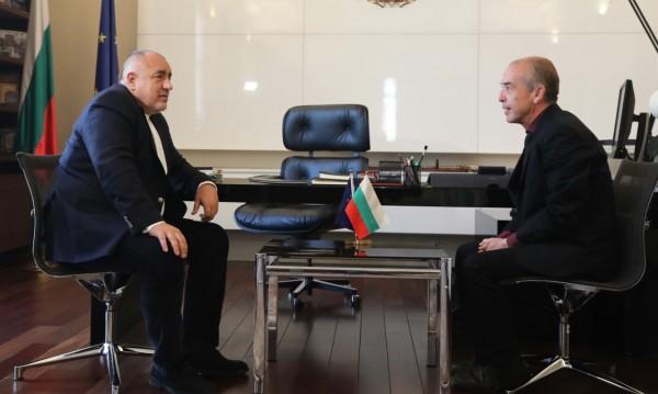 Борисов към Мангъров: Не ми е приятно да се разделяме...