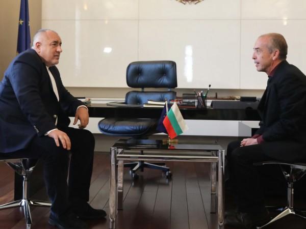 Министър-председателят Бойко Борисов се срещна с началника на Детската клиника