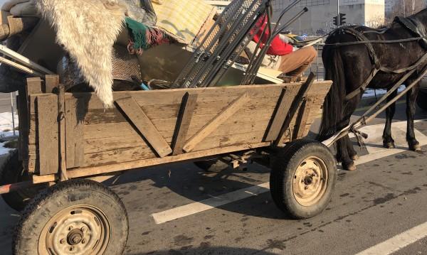 Заловиха пълна каруца с гуми за палене в Пловдив