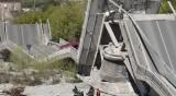 Още един мост се срути в Италия. Един човек пострада