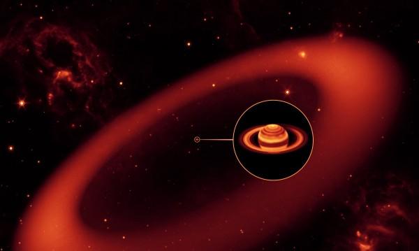 Защо атмофсерата на Сатурн е толкова гореща?