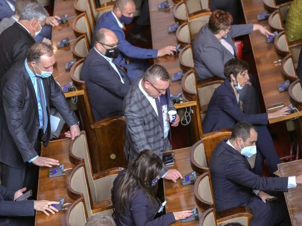 КНСБ настоява Народното събрание да отмени решението за даряване на