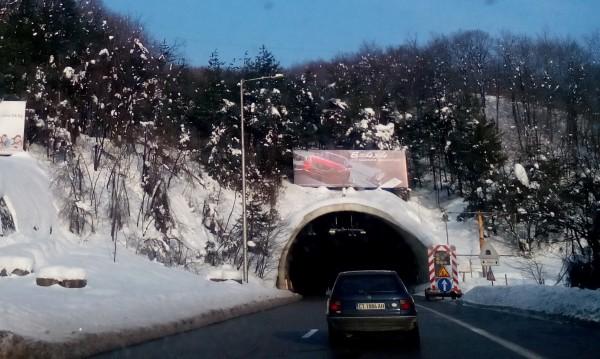 "Ремонт ще затрудни движението в тунел ""Траянови врата"""