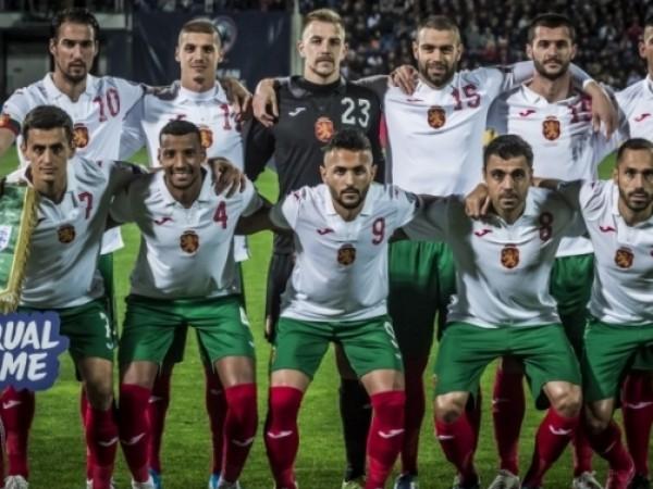 Българският национален отбор по футбол запази своето 59-то място в